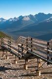Calzada encima de la montaña del azufre Fotografía de archivo