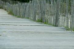 Calzada a la playa Fotos de archivo
