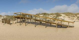 Calzada a la playa Imagen de archivo libre de regalías