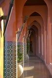Calzada temática marroquí Fotografía de archivo