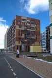 Calzada tropical de la línea de costa Micro-ciudad y x22; En el Woods& x22; Moscú, Rusia Imagenes de archivo
