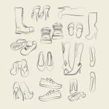 Calzado Stock de ilustración