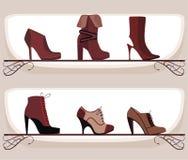 Calzado de la manera stock de ilustración