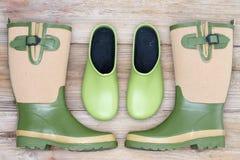 Calzado elegante para el jardín Fotografía de archivo libre de regalías
