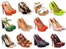 Calzature femminili collection-4 Fotografia Stock