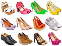 Calzature femminili collection-7 Fotografia Stock Libera da Diritti