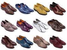 Calzature maschii collection-3 Fotografie Stock