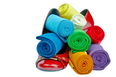 Calze colorate Immagine Stock