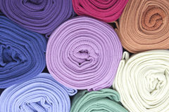 Calze colorate Fotografia Stock