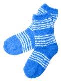 Calzini blu Immagine Stock