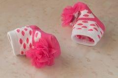 Calzini del bambino Immagini Stock