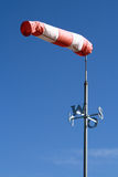 Calzino di vento Immagine Stock