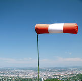 Calzino di vento fotografie stock libere da diritti