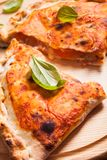 Πίτσα Calzone Στοκ Εικόνες