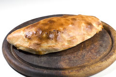 Calzone italian food Royalty Free Stock Photography
