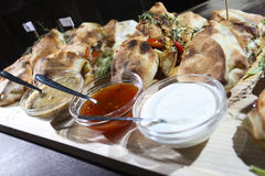 Calzone Royalty Free Stock Photos