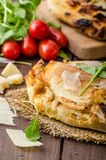 Calzone pizza Stock Photography