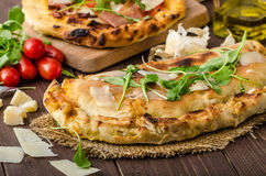 Calzone pizza Royalty Free Stock Photo