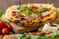Calzone pizza Royalty Free Stock Photography