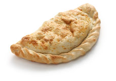 Calzone-Pizza, italienisches Lebensmittel Lizenzfreie Stockfotos
