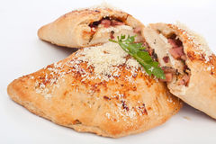 Calzone Pizza Stock Image
