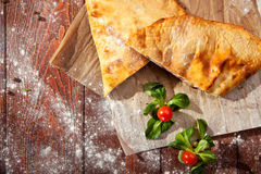 Calzone Stock Photography