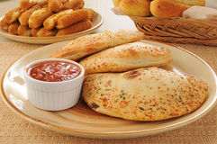 Calzones Royalty Free Stock Image