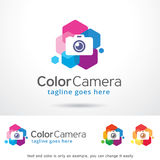 Caméra couleur Logo Template Design Vector Photos libres de droits