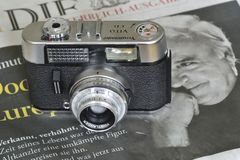 Caméra de CD de Voigtländer VITO photos stock