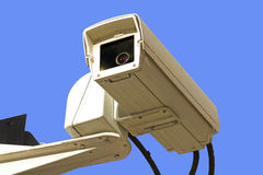 Caméra de sécurité Image libre de droits