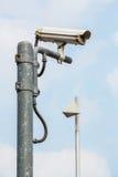 Caméra de sécurité Photos stock