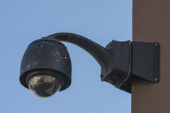 Caméra de sécurité aérienne de télévision en circuit fermé de surveillance Images stock