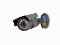 Caméra de sécurité d'isolement Photos stock