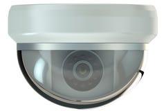 Caméra de sécurité de dôme illustration stock