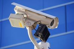 Caméra de sécurité de premier plan Images stock