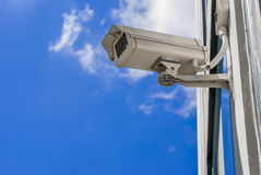 Caméra de sécurité de télévision en circuit fermé Photo libre de droits