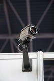 Caméra de sécurité de télévision en circuit fermé. Photo stock