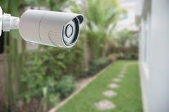 Caméra de sécurité de télévision en circuit fermé, Images stock