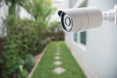 Caméra de sécurité de télévision en circuit fermé, Images libres de droits
