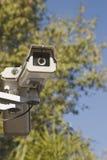 Caméra de sécurité extérieure Photo libre de droits