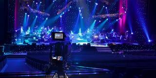 Caméra de télévision Image libre de droits