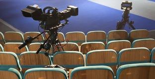 Caméra de télévision Photo stock