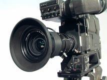 Caméra de télévision de studio photographie stock