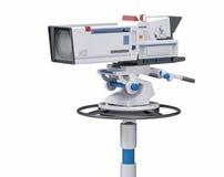 caméra de télévision professionnelle d'isolement par 3D Image stock