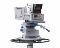 caméra de télévision professionnelle d'isolement par 3D Photographie stock