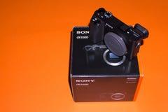 Caméra Sony Alpha a6500 Mirrorless photos stock