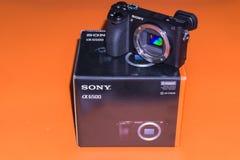 Caméra Sony Alpha a6500 Mirrorless image stock