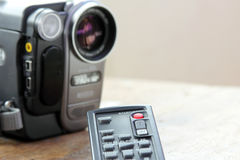 Caméra vidéo à télécommande Photographie stock