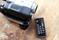 Caméra vidéo à télécommande Images libres de droits