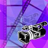 Caméra vidéo illustration libre de droits